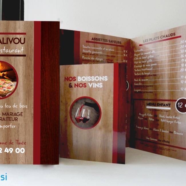 Le Régalivou - Carte et menu - Auron