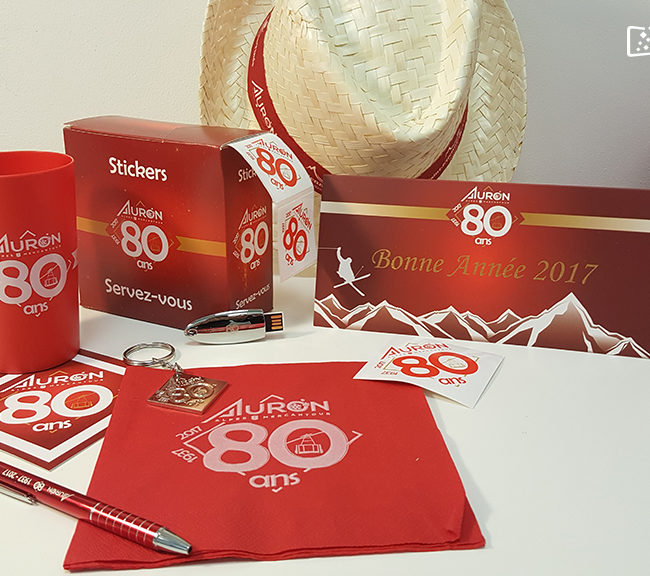 goodies - Auron 80 ans