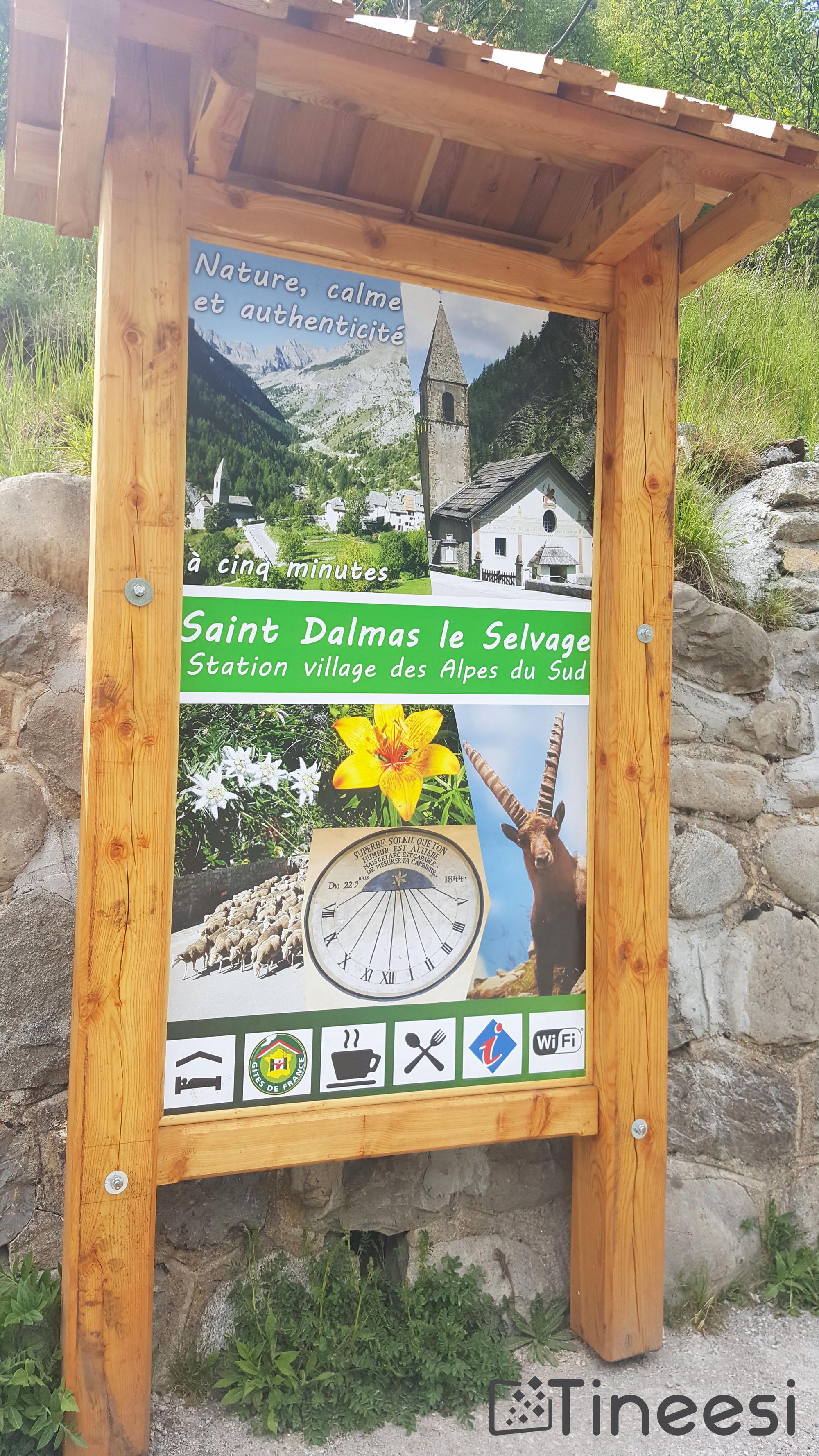 mairie st dalmas – panneau été bienvenue