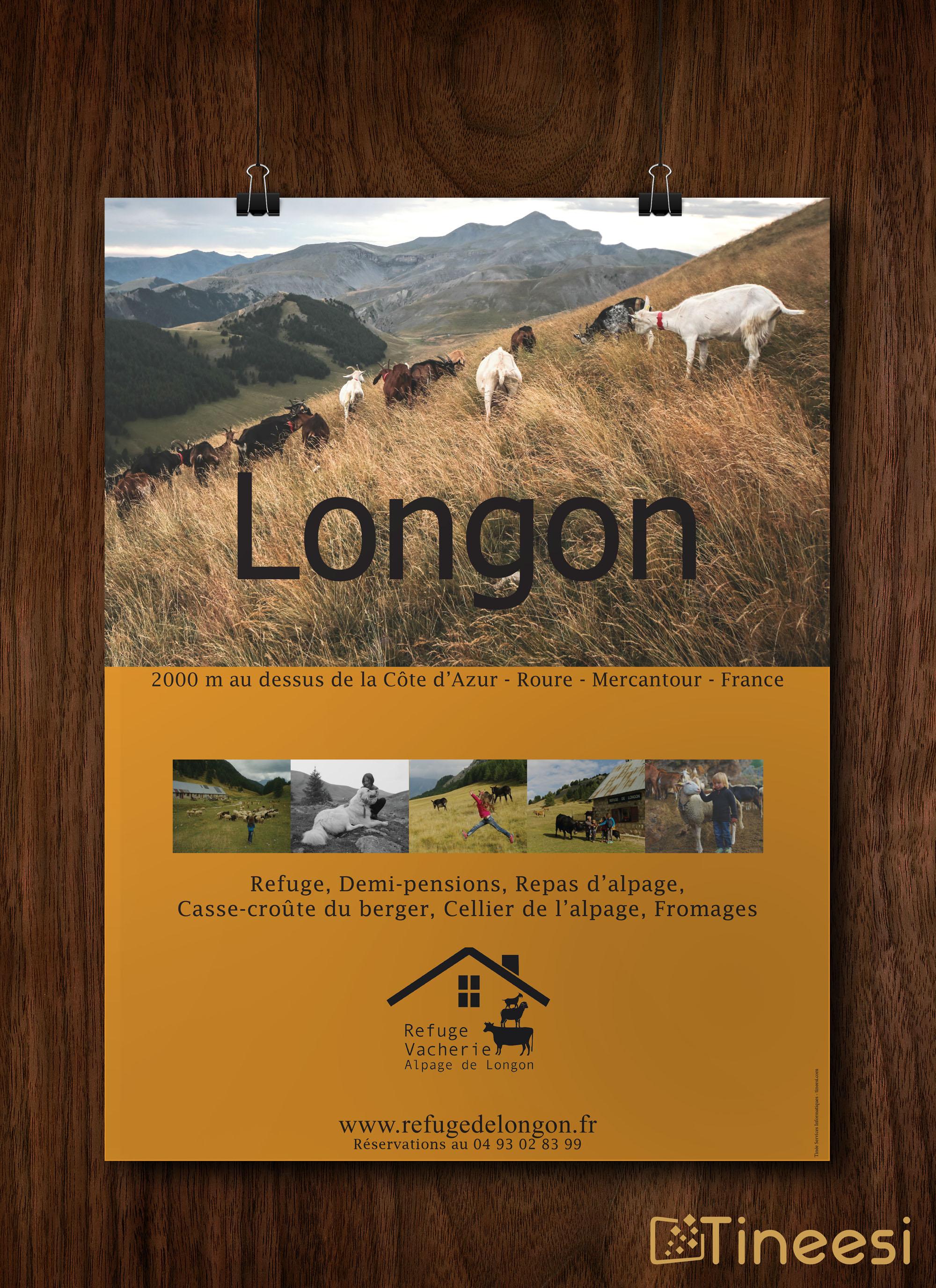 affiche Refuge de Longon