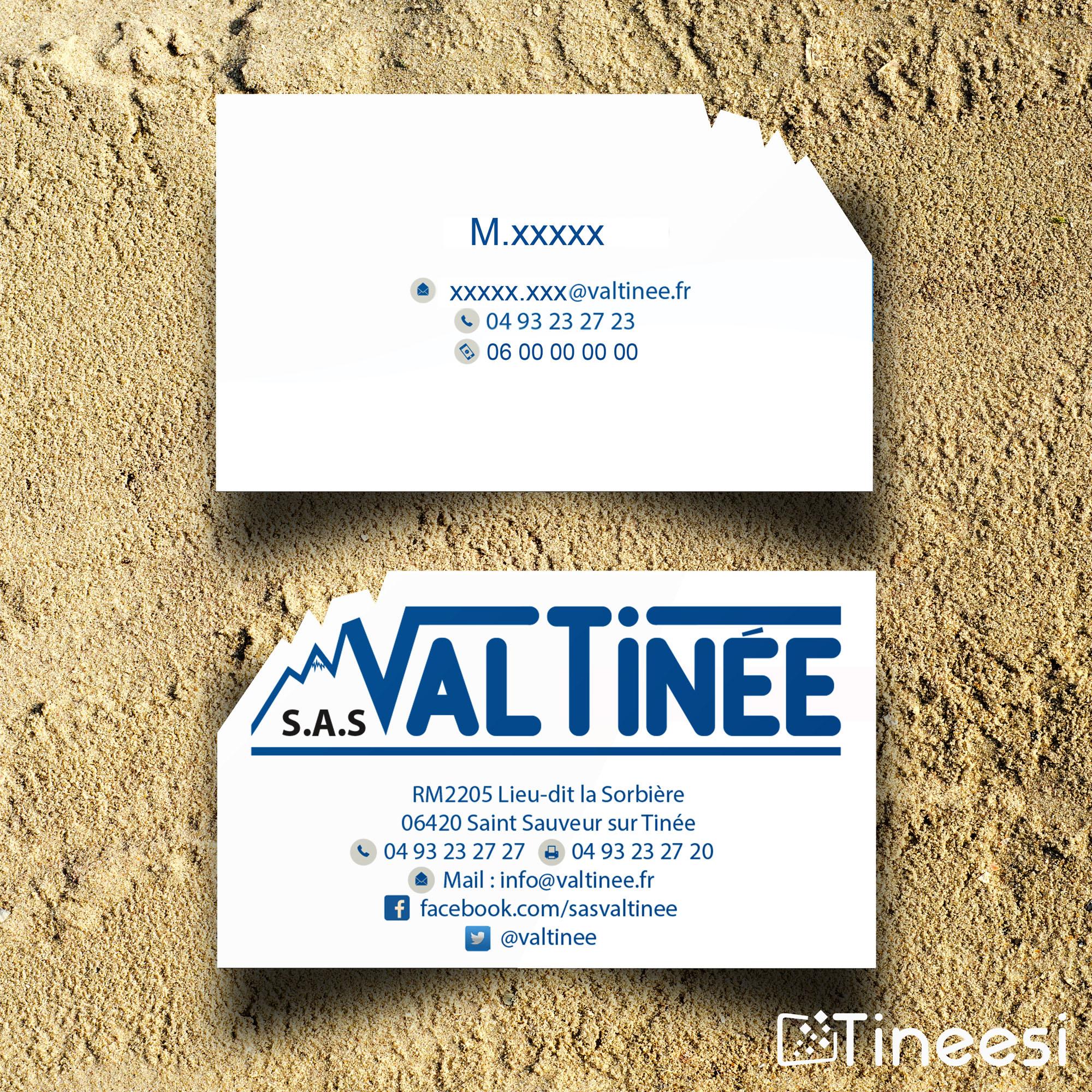 carte de visite Valtinée