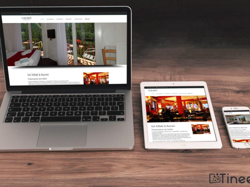 Hôtel le blainon - site internet