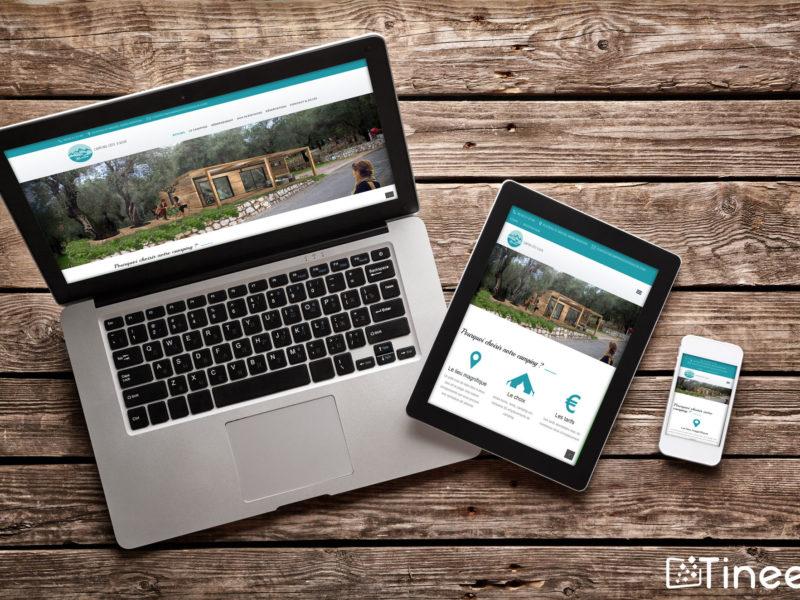 Campings côte d'azur - site internet