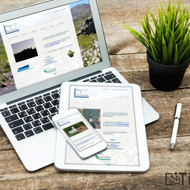 Mesure et environnement - site internet