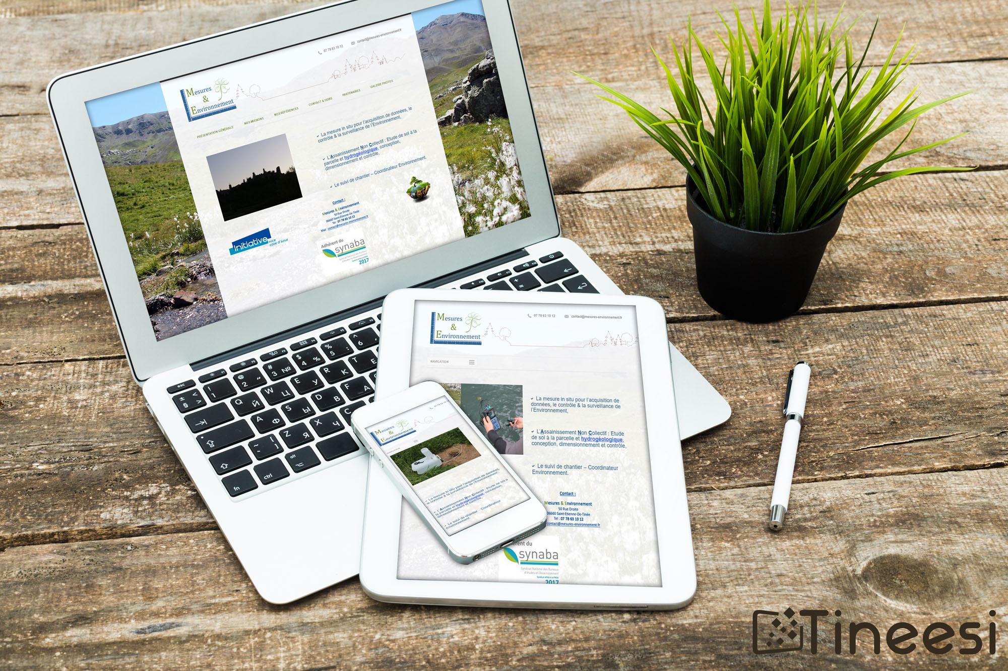 Mesure et environnement - site