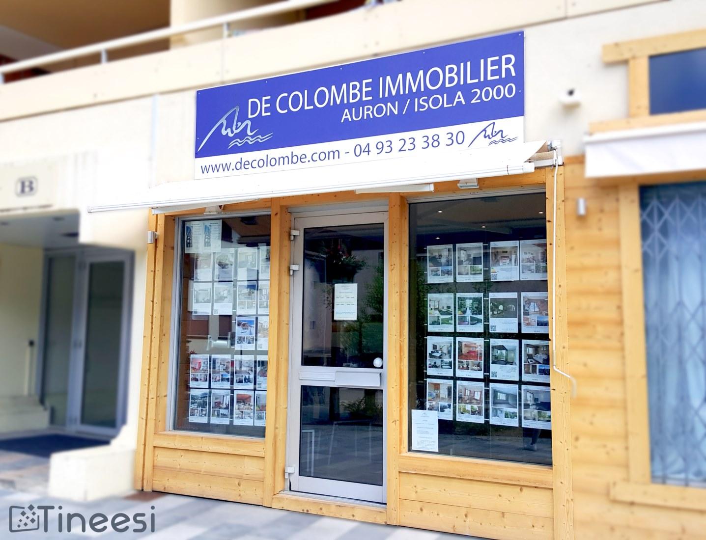 Panneau De Colombe immobilier - Auron