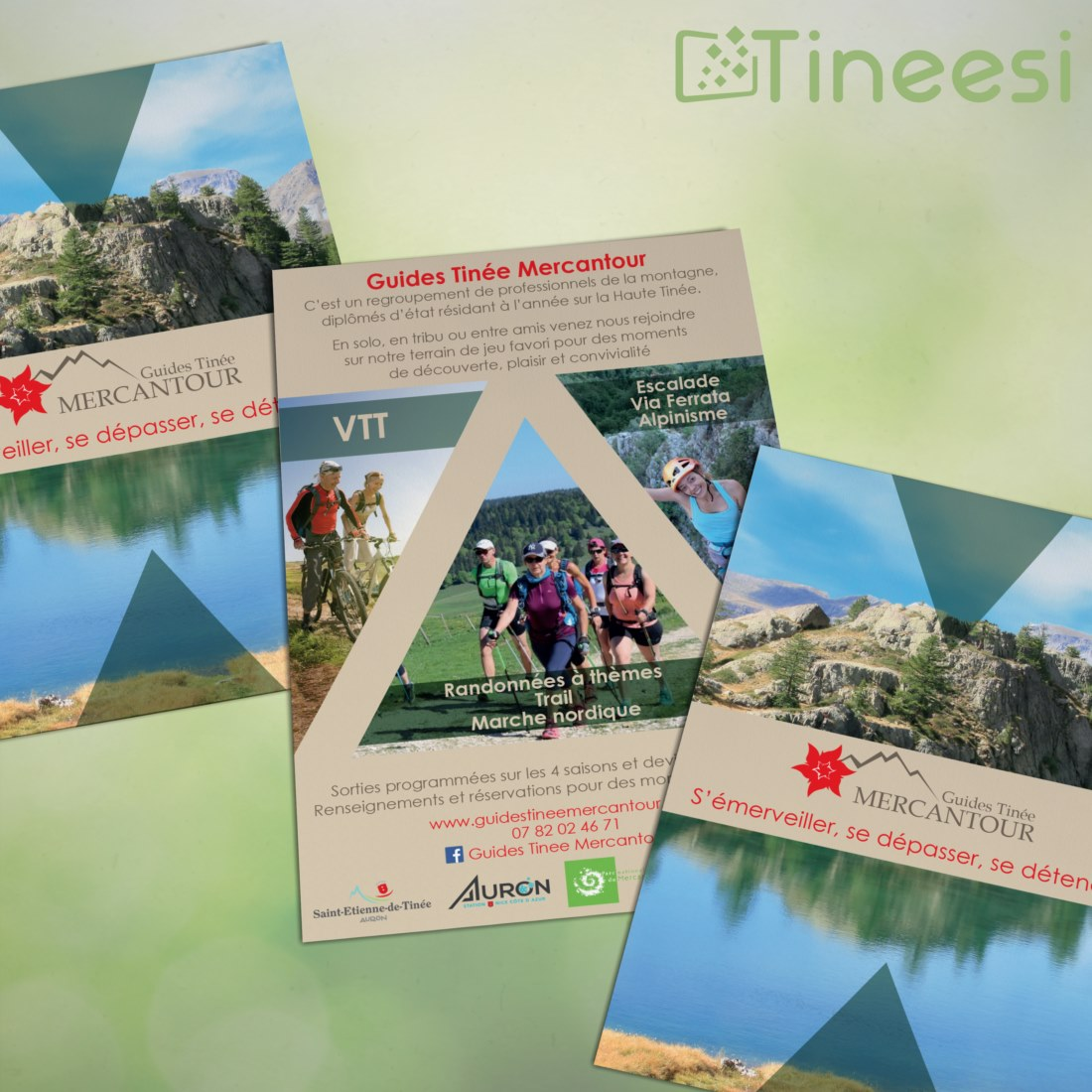 Guides Tinée Mercantour - Flyers