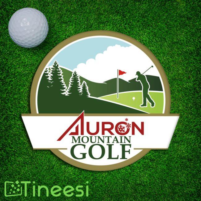 Auron Mountain golf-logo