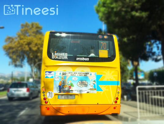 Bus - Lignes d'Azur - Fête des chataignes