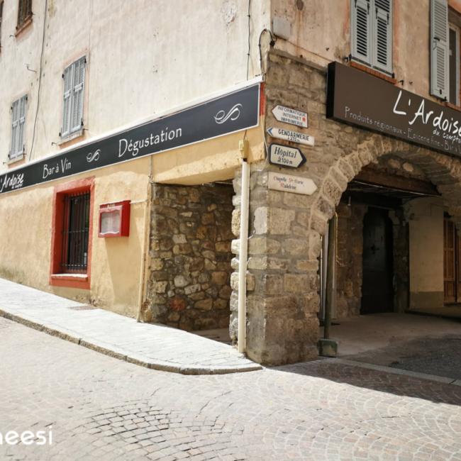 Enseigne - L'Ardoise - Saint Etienne de Tinée