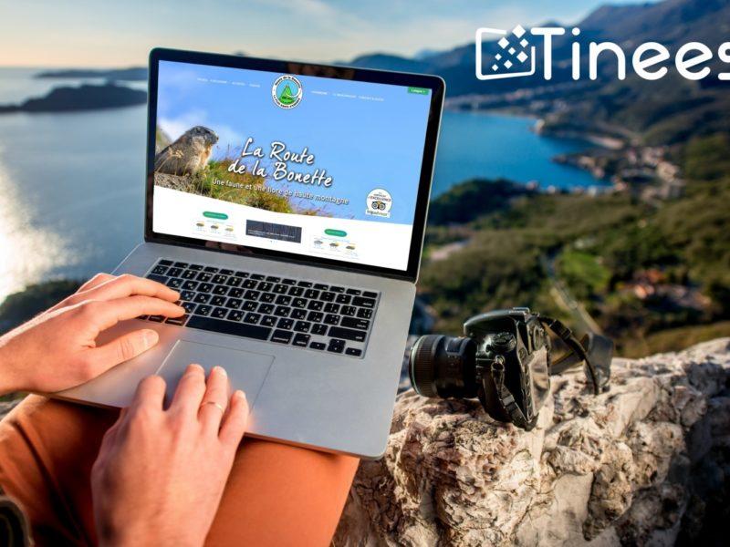 Route de la Bonette - Site internet