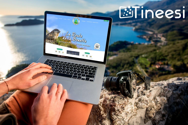 Site internet Route de la Bonette