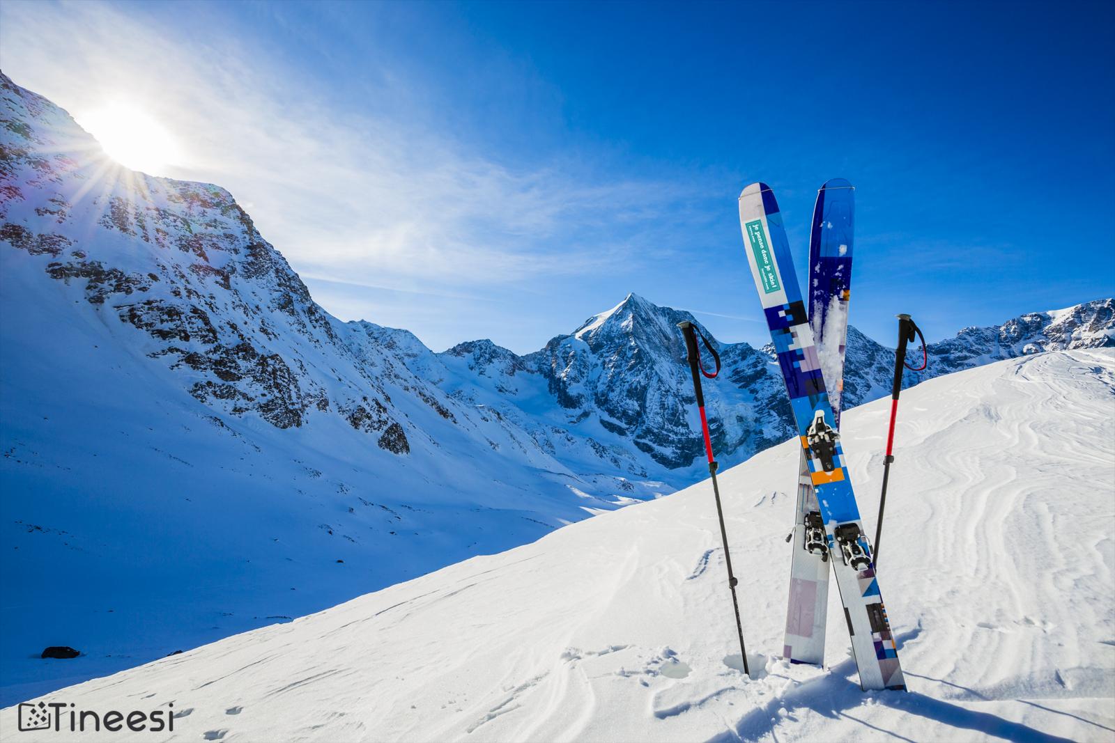 stickers skis objets pub stations