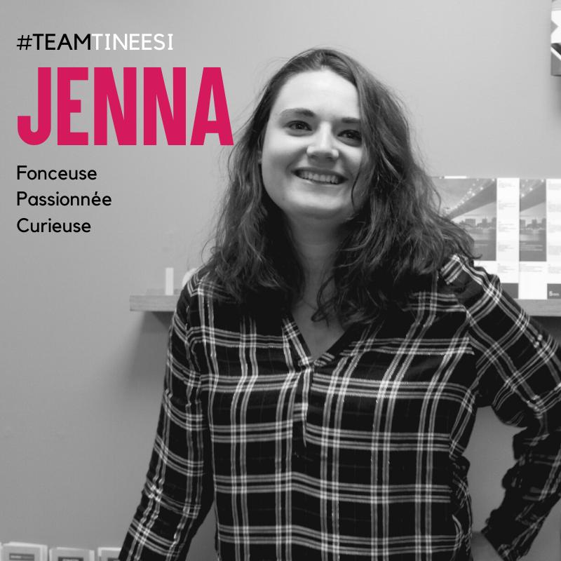Jenna notre graphiste
