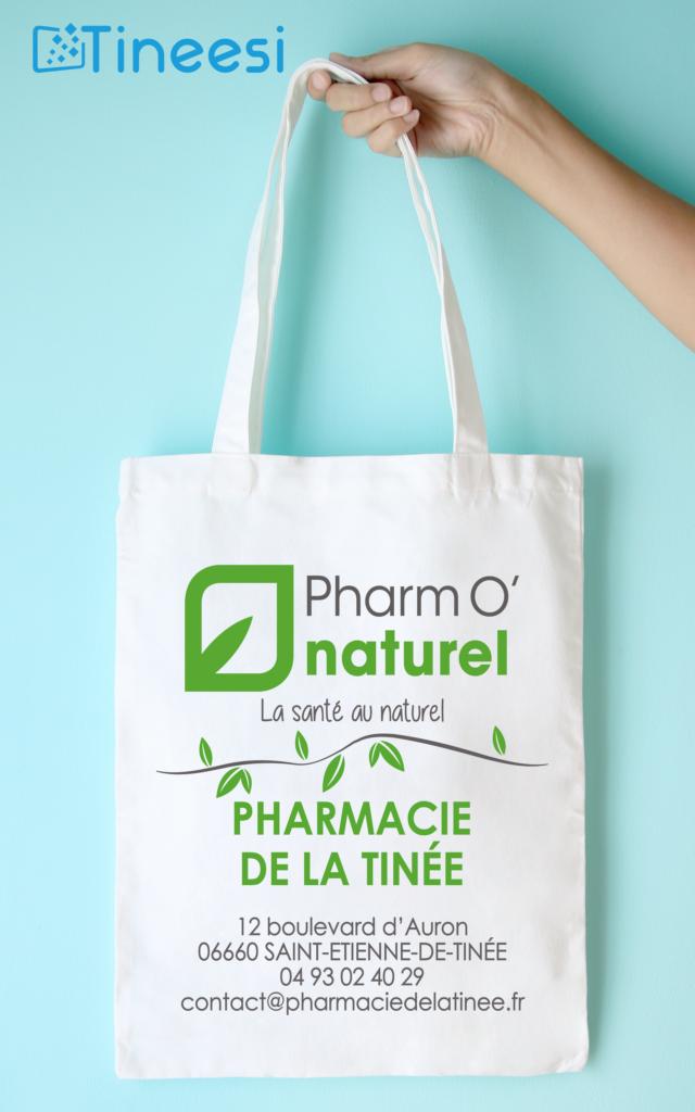 Pharmacie de la Tinée – Totebag