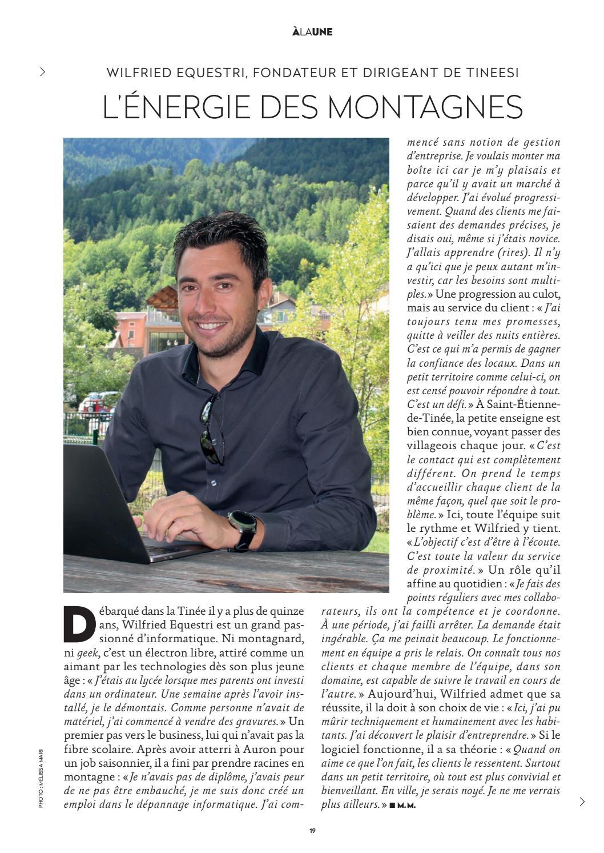 INTERVIEW WILFRIED OPTIMISTE COTE DAZUR