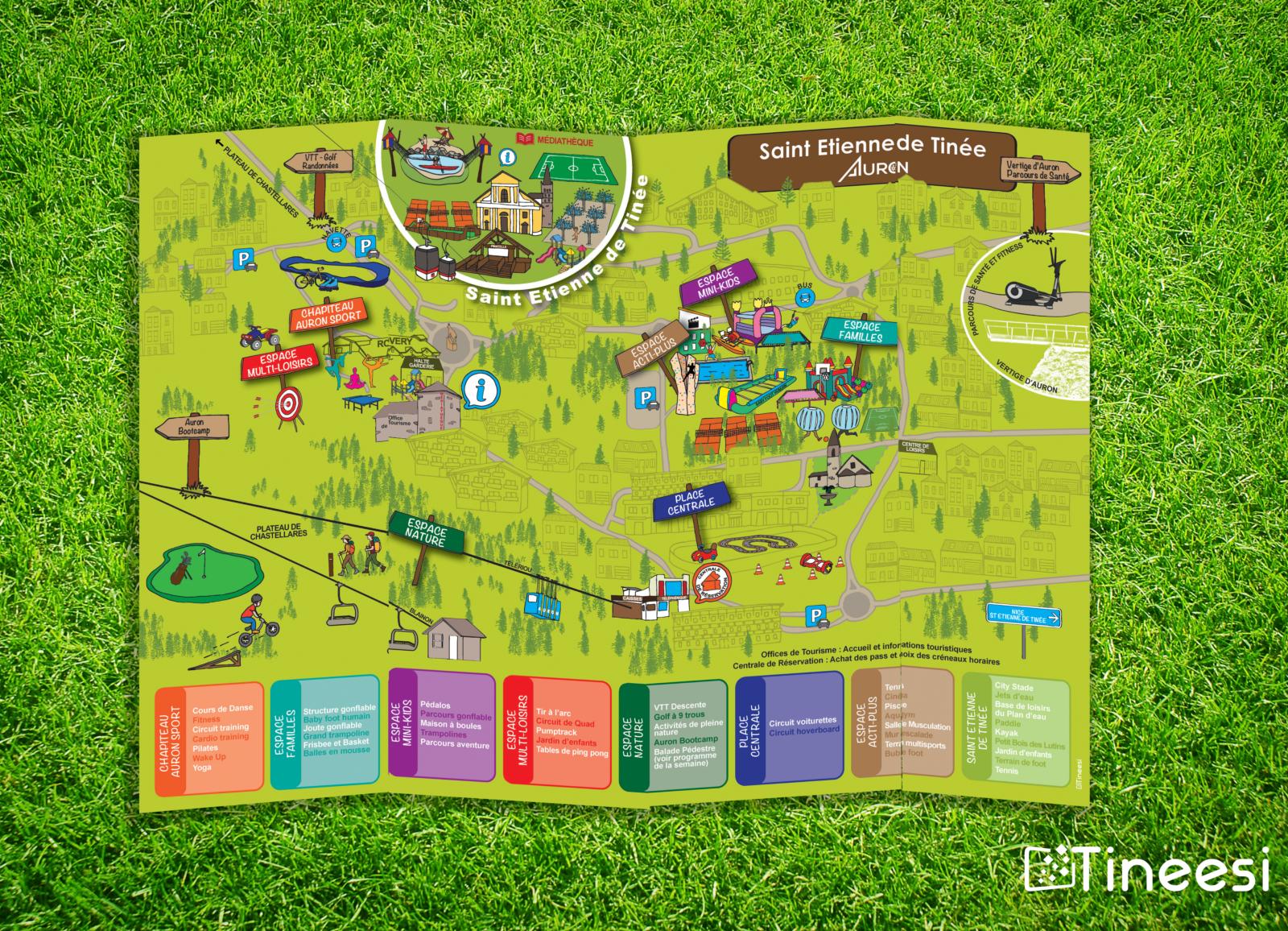 Plan des activités - mairie de Saint Etienne de Tinée
