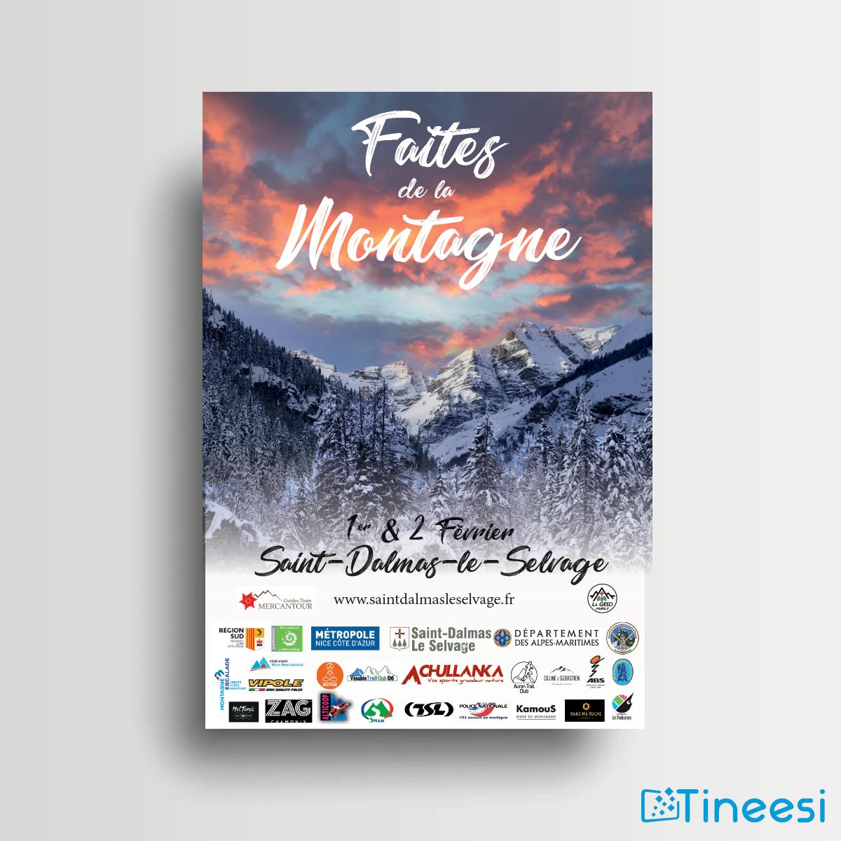 Flyer recto Faites de la montagne