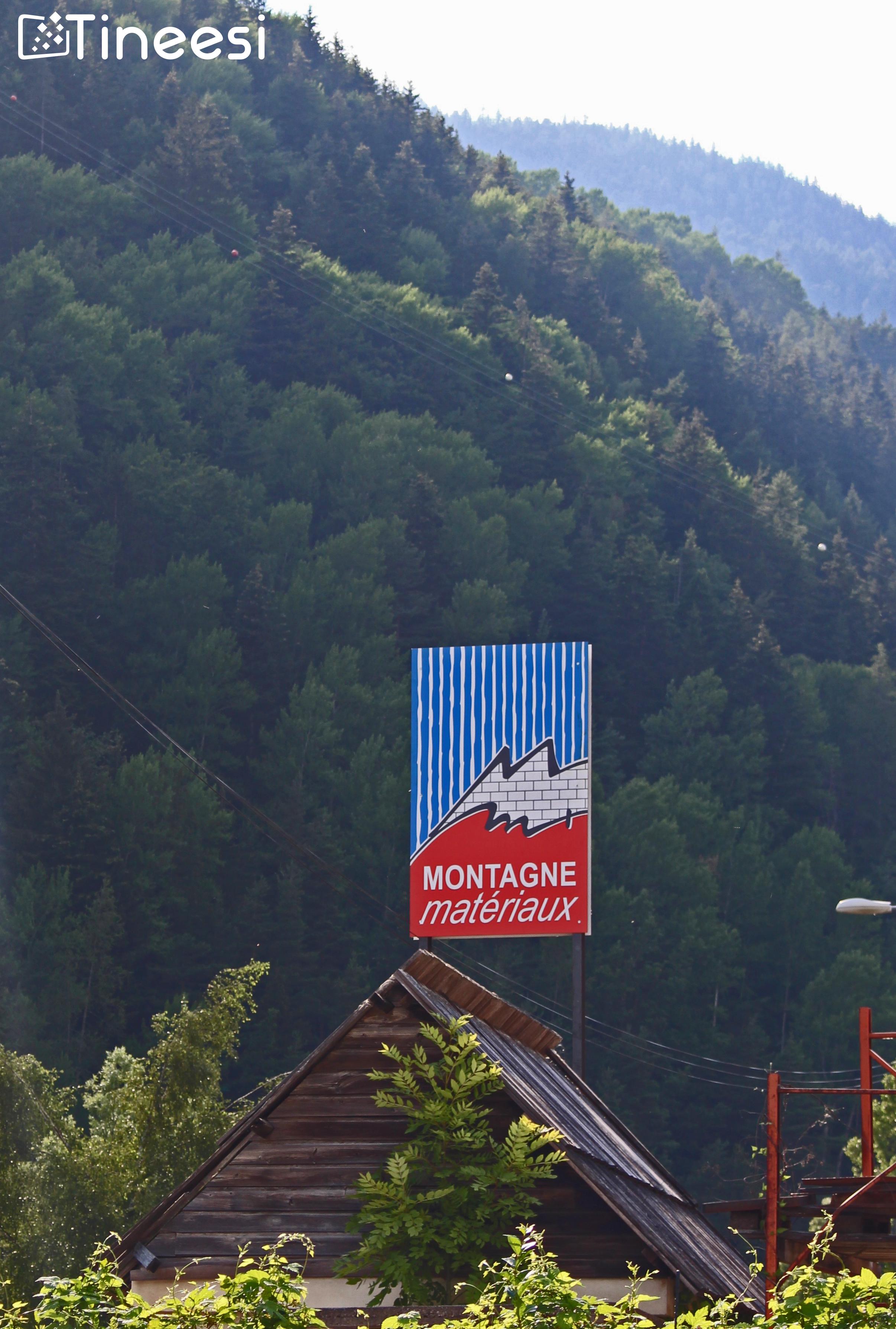 panneau route montagne matériaux_2020